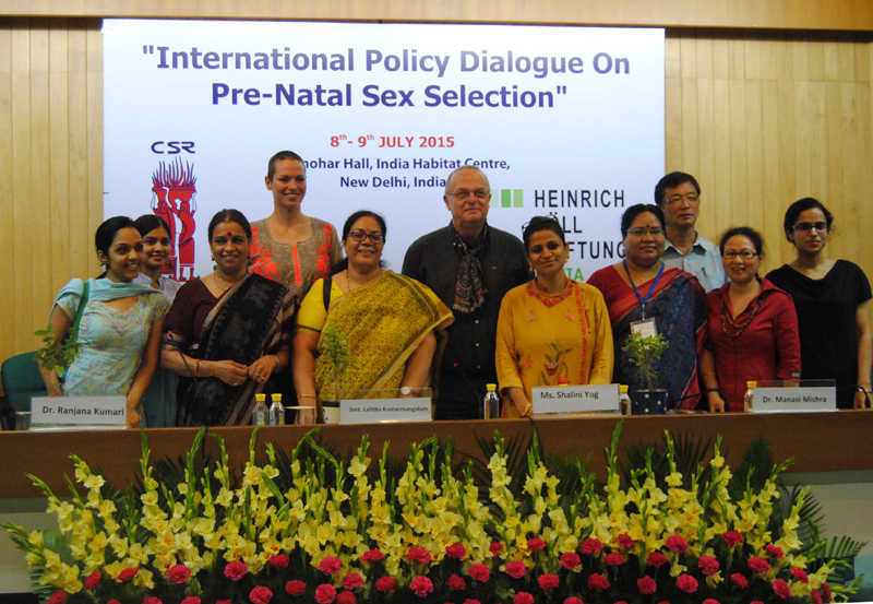 Policy Dialogue on Pre-natal Sex Selection